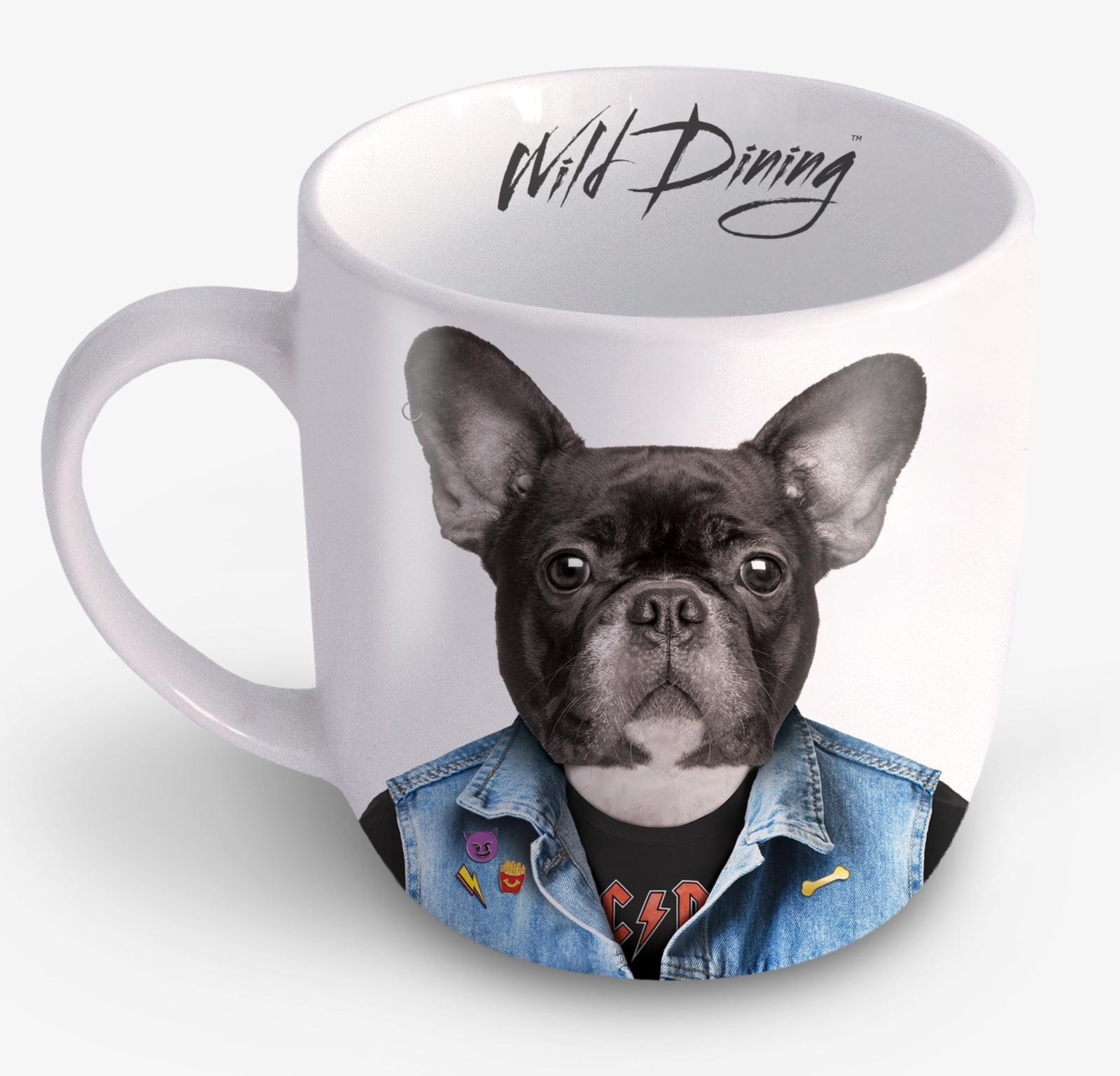 Wild Dining: Ceramic Mug - Dog image