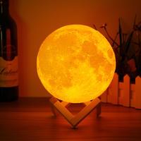 3D Spherical Moon Lamp
