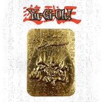 Yu-Gi-Oh: Metal God Card (24K Gold Plated) - Obelisk the Tormentor
