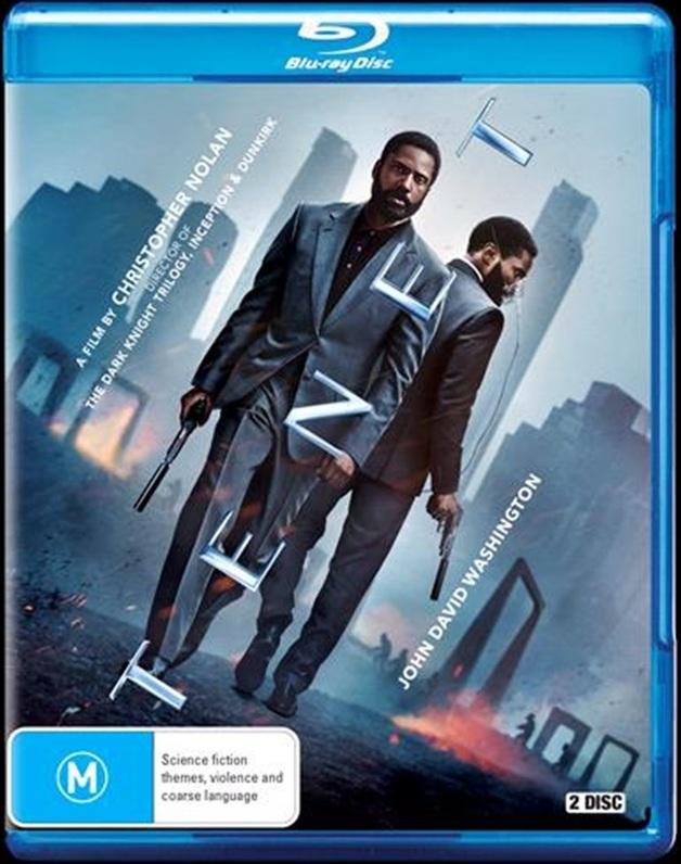 Tenet on Blu-ray