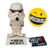 "Star Wars ""'The Dark Side Made Me Do It"" Wisecracks Bobble Head"