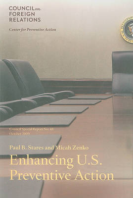 Enhancing U.S. Preventive Action by Paul B Stares image