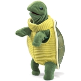 Folkmanis Hand Puppet - Turtleneck Turtle