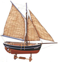 Artesania Latina Longboat Bon Retour 1:25 Wooden Model Kit