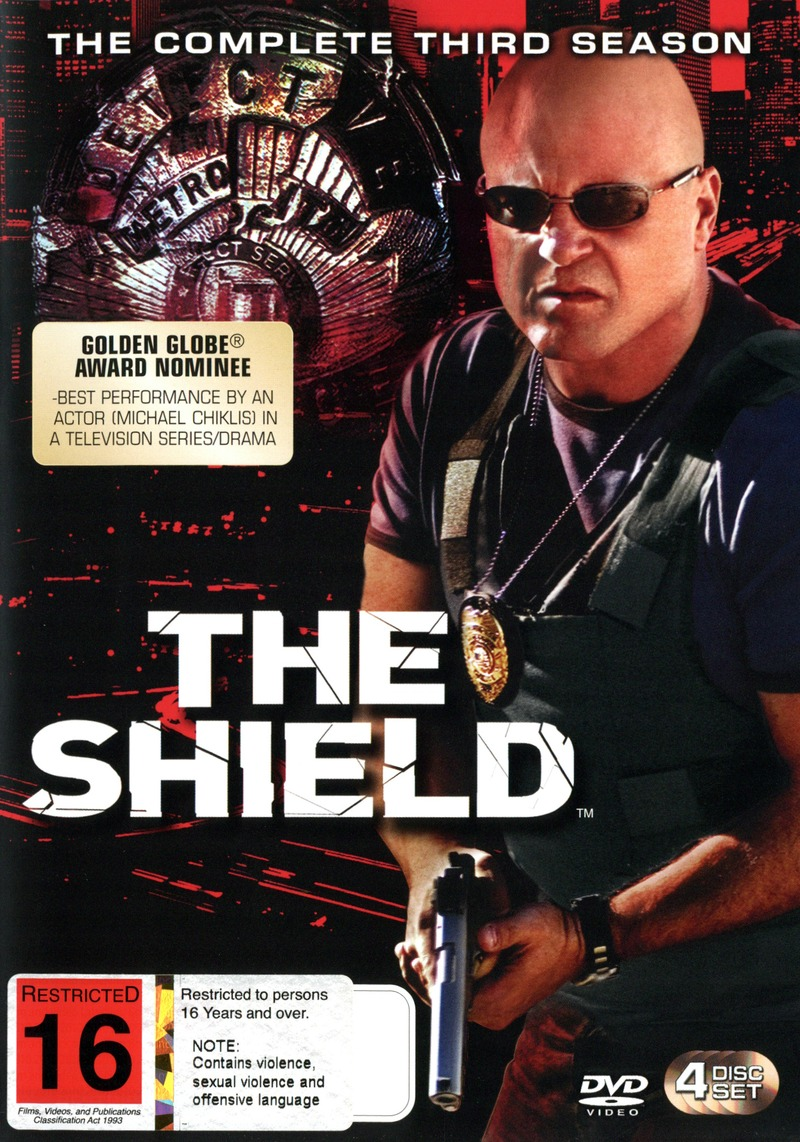 The Shield - Season 3 on DVD image