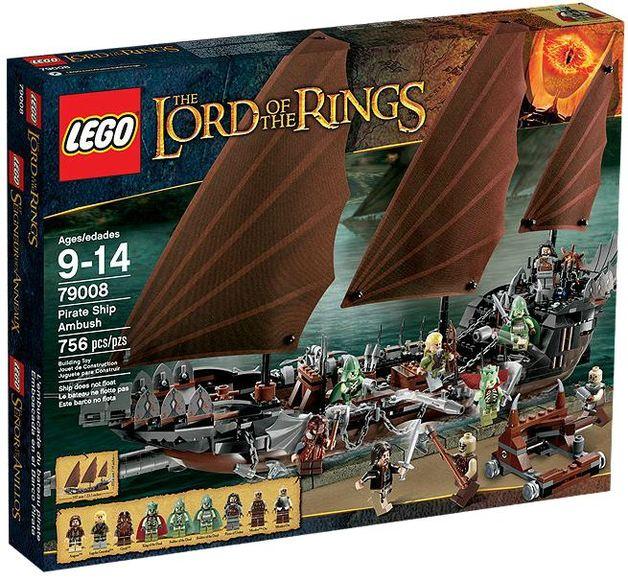 LEGO Lord of the Rings - Pirate Ship Ambush (79008)