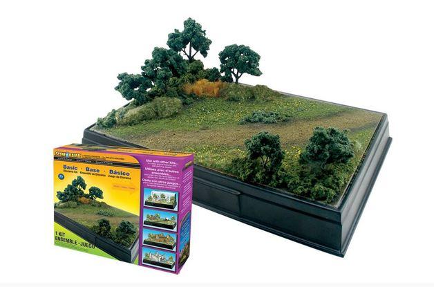 Woodland Scenics Basic Diorama Kit