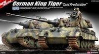 Academy King Tiger Last Production 1/35 Model Kit