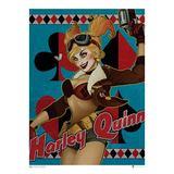Batman DC Bombshells Harley Quinn Art Print