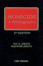 Homicide by Bal K. Jerath image