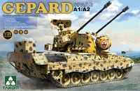 Takom 1/35 Gepard SPAAG A1/A2 2 in 1