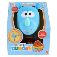 Hey Duggee Talking Squirrel Club Soft Toy - Tag