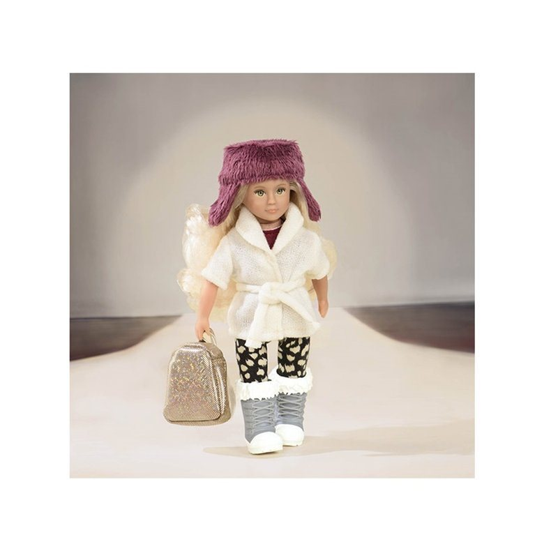 "Lori: 6"" Doll - Furry Hat Outfit image"