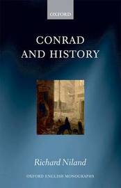 Conrad and History by Richard Niland image