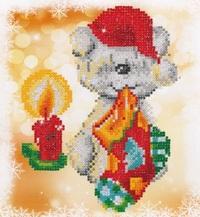 Diamond Dotz: Facet Art Kit - Xmas Puppy Stocking