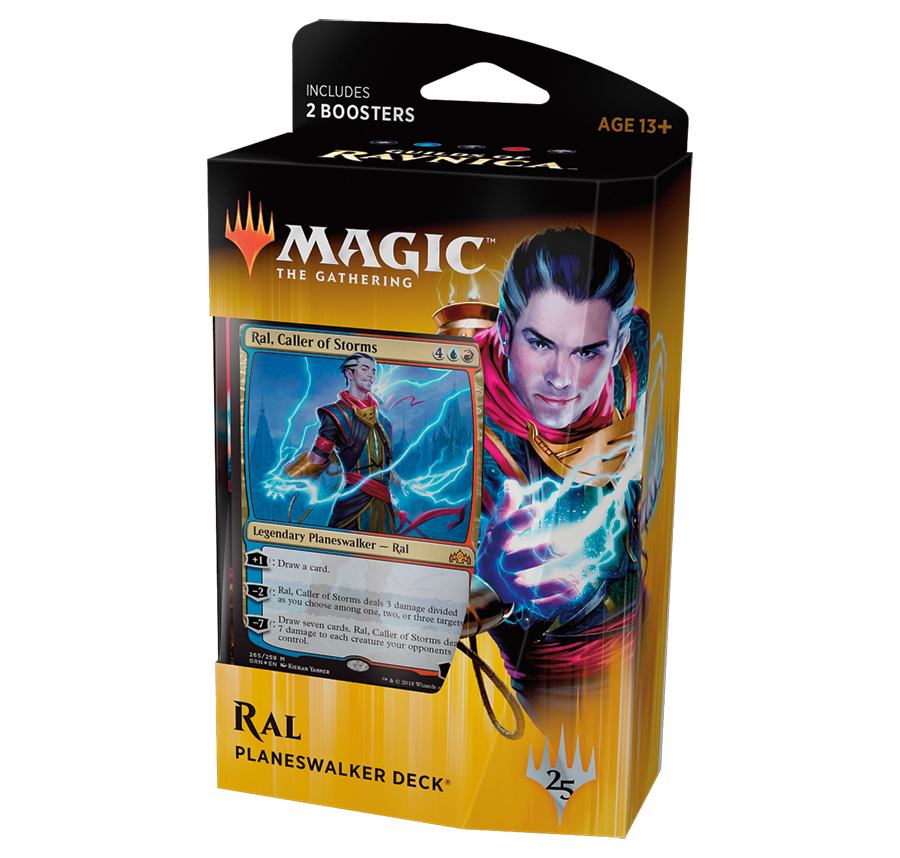 Magic The Gathering: Guilds of Ravnica Ral Planeswalker Deck image