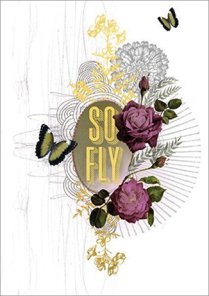 Papaya: Foil Card - So Fly