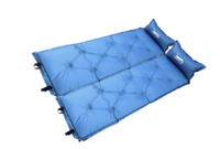 Single Self Inflatable Camping Mattress - Blue