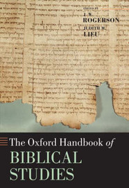 The Oxford Handbook of Biblical Studies image