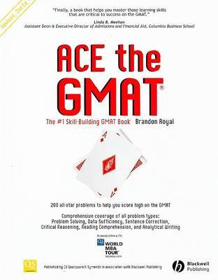 Ace the GMAT by Brandon Royal image