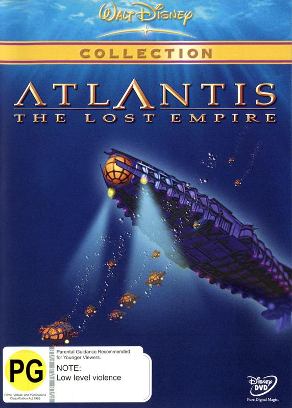 Atlantis on DVD
