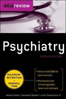 Deja Review Psychiatry by Abilash Gopal