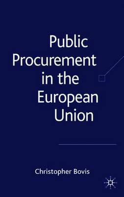 Public Procurement in the European Union by Christopher Bovis image