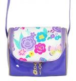 Pink Poppy: Secret Garden Cross Body Bag - Lilac