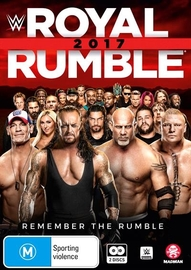 WWE: Royal Rumble 2017 on DVD