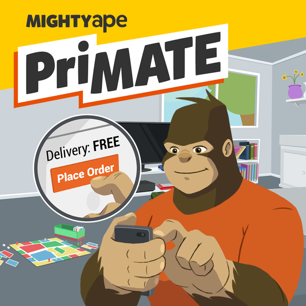 Mighty Ape Primate Subscription (3 months)
