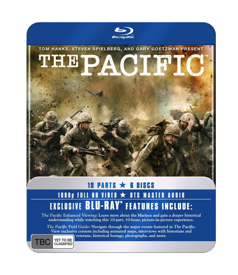 The Pacific - The Complete Mini-Series: Special Tin Edition Packaging