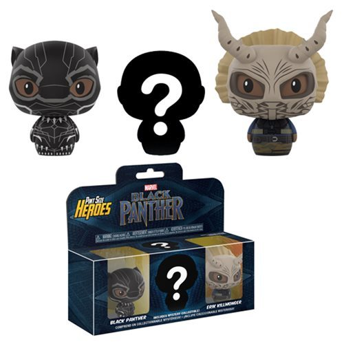 Black Panther: Pint Size Heroes - Mini-Figure 3-Pack