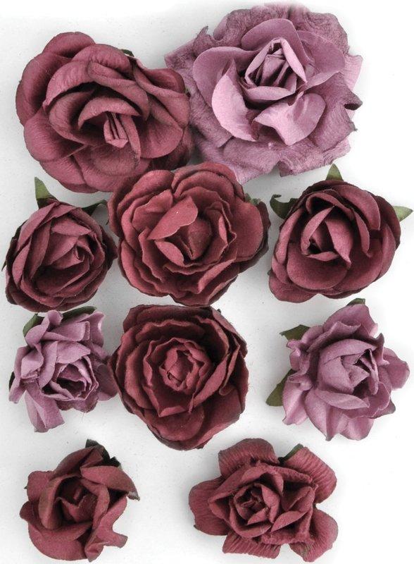 Kaisercraft: Paper Blooms - Cranberry