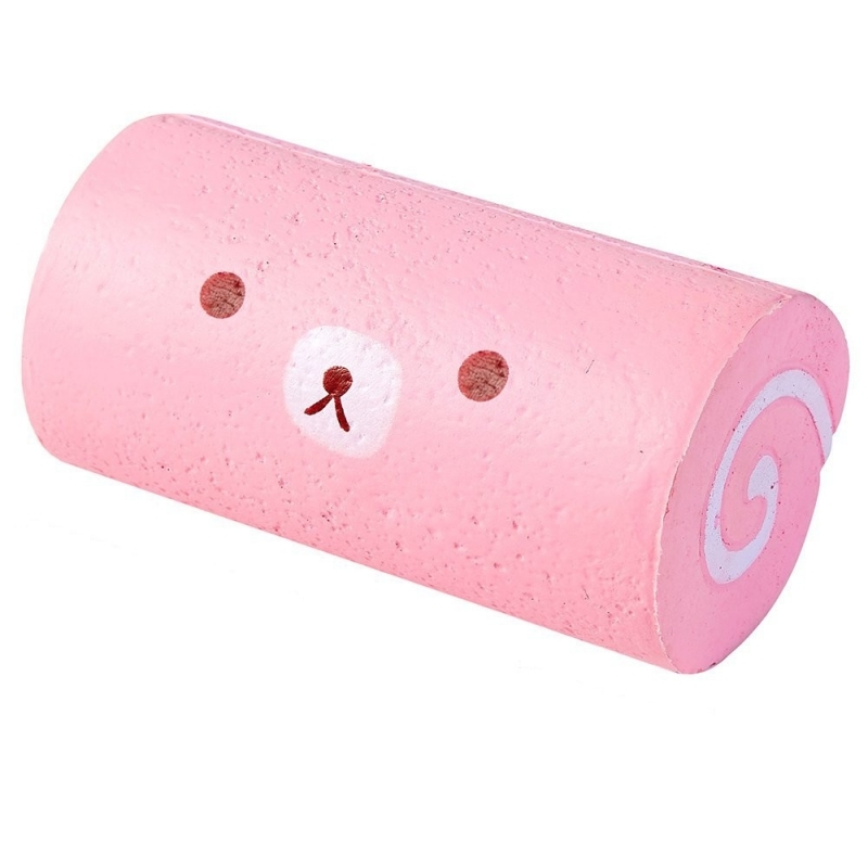 I Love Squishy: Cake Roll Squishie Toy (15cm) image
