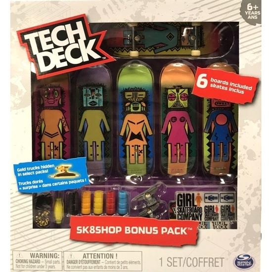 Tech Deck: Skateshop Bonus Pack - Girl