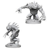 D&D Nolzur's Marvelous: Unpainted Miniatures - Grey Slaad & Death Slaad