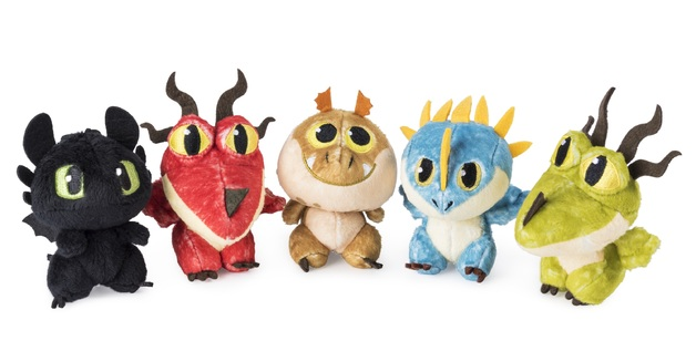 How to Train Your Dragon 3: Dragon Egg - Mystery Plush (Assorted Designs)