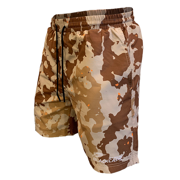 Blackcaps Supporters Camo Shorts (Large)