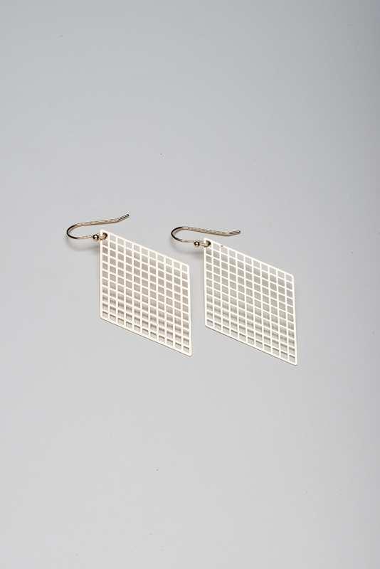 Stilen: Kite gold earrings