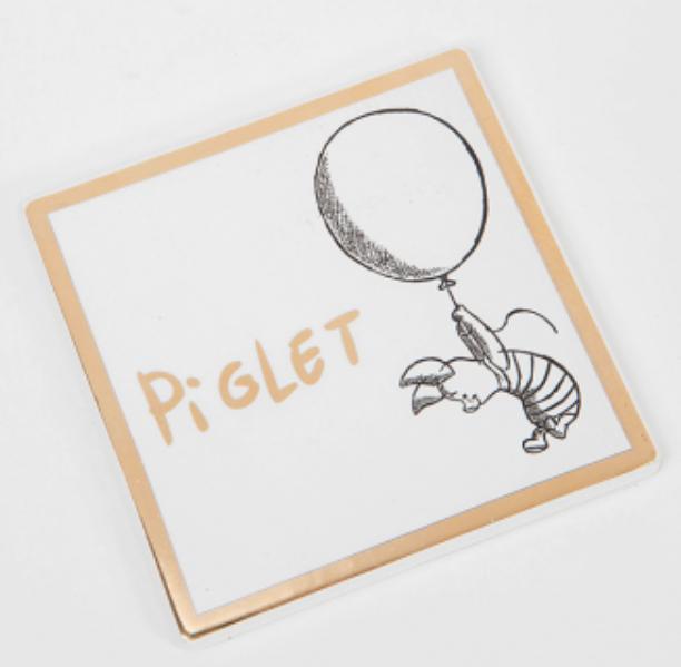 Disney Collectible Coaster: Piglet
