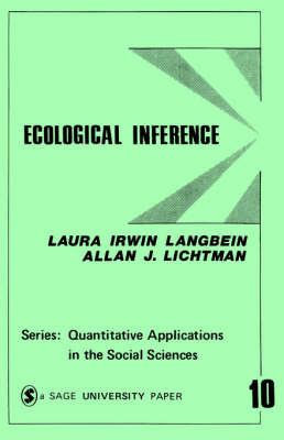 Ecological Inference by Laura Irwin Langbein image