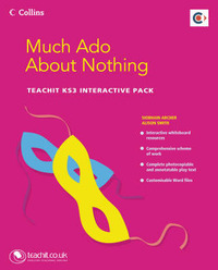"""Much Ado About Nothing"" Teachit KS3: Interactive Pack image"