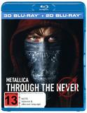 Metallica: Through The Never (3D Blu-ray / Blu-ray) DVD