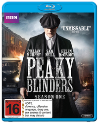 Peaky Blinders - The Complete First Season on Blu-ray