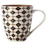 Christopher Vine: Marigold Mug - Black Flower (500ml)