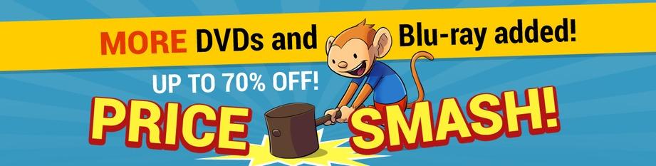 DVD & Blu-ray Price Smash!