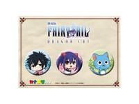 Fairy Tail: Dragon Cry Kana-Chibi - Can Badge Set