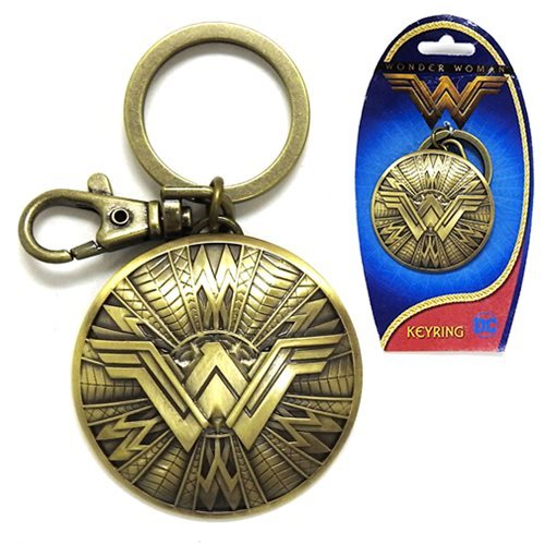 DC Comics: Wonder Woman Shield - Pewter Key Chain