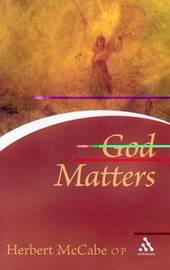 God Matters by Herbert McCabe image