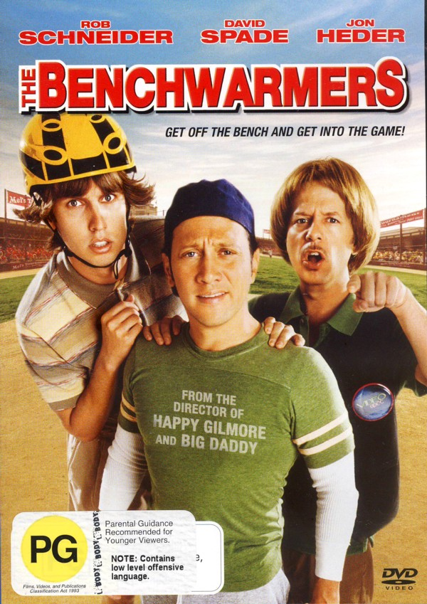 The Benchwarmers on DVD image